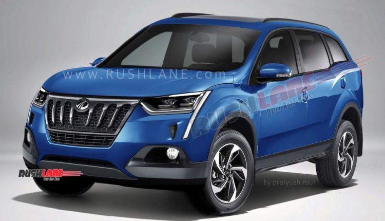 2020 Mahindra XUV500 Render