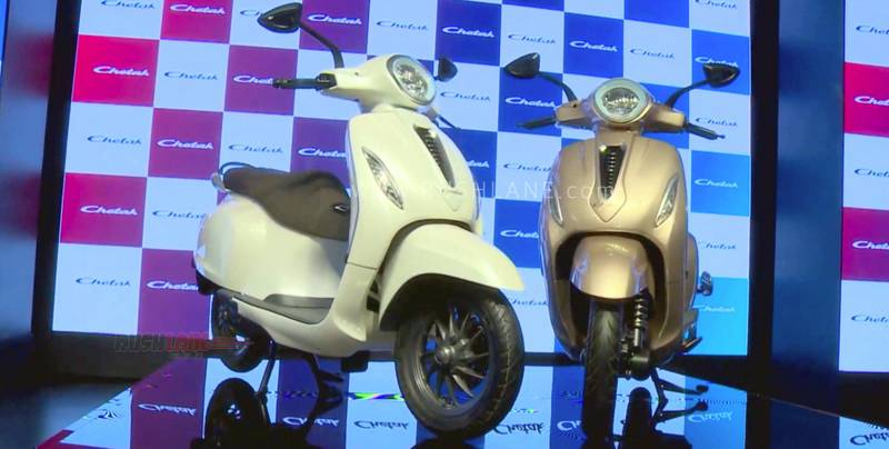 Image result for Bajaj Chetak is back with electric scooter