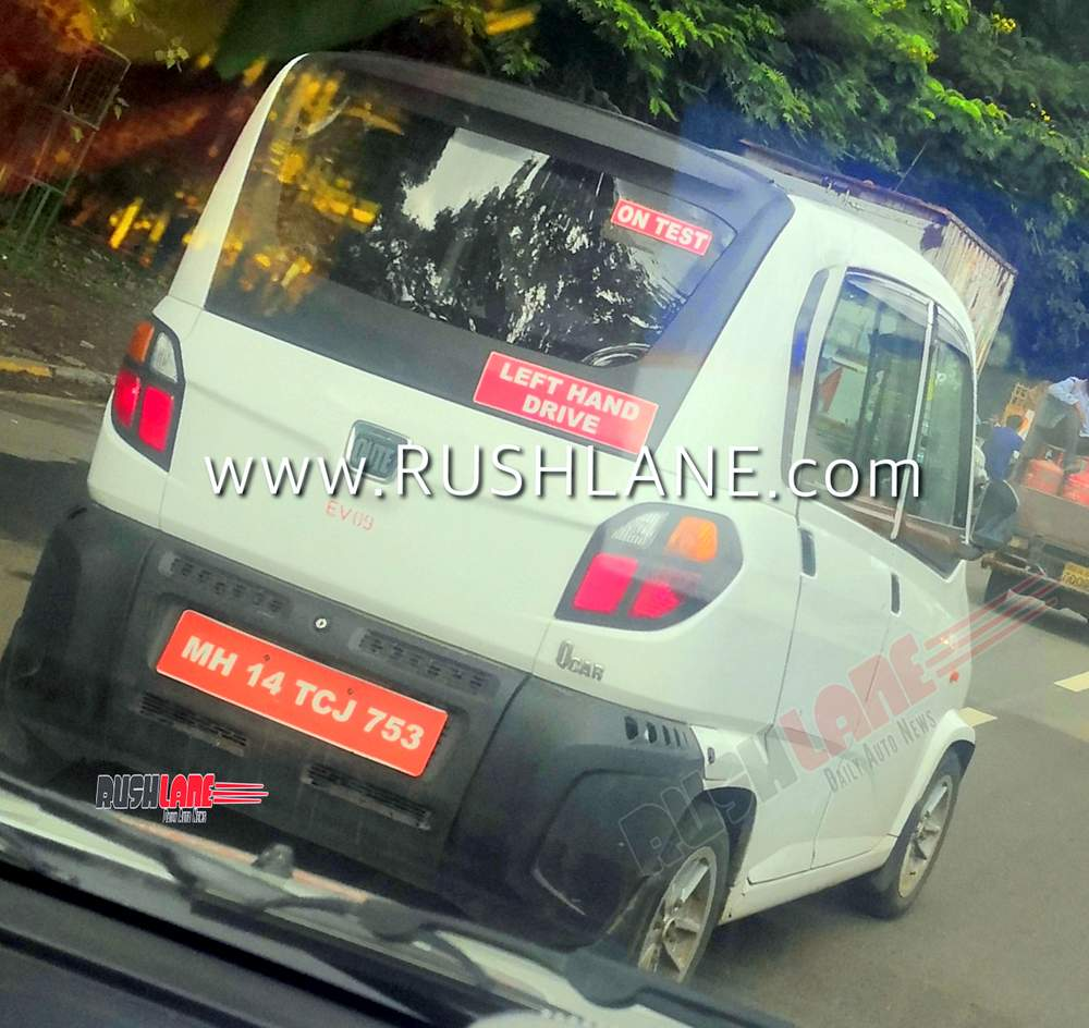 Bajaj Qute electric car QCAR
