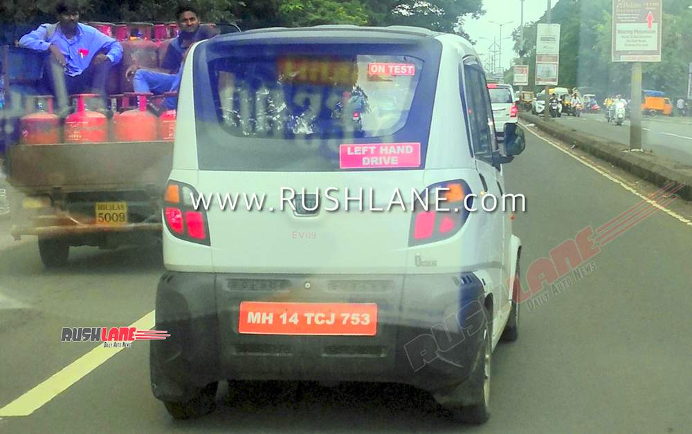 Bajaj Qute electric car Q Car