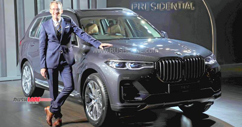 New BMW X7 sold out in India