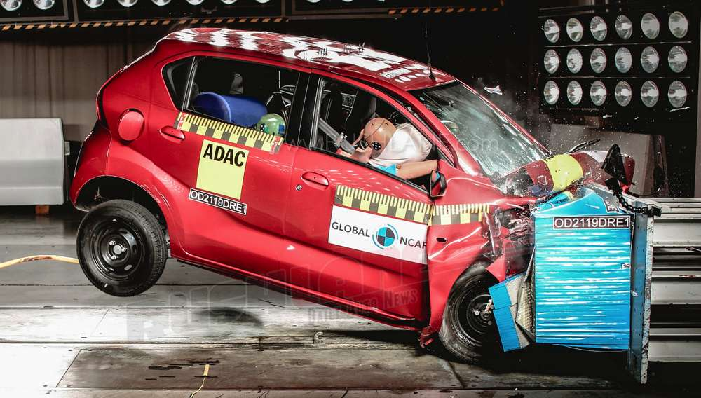 Datsun Redi-Go crash test safety rating