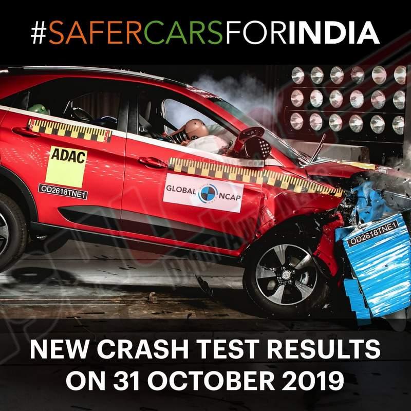 Global NCAP crash test 2019