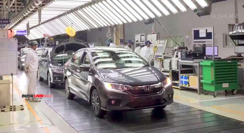 Honda cars plant shut down