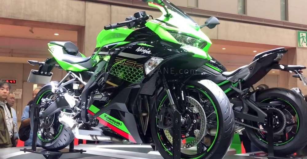 Kawasaki ZX25R Ninja 250 4 cylinder