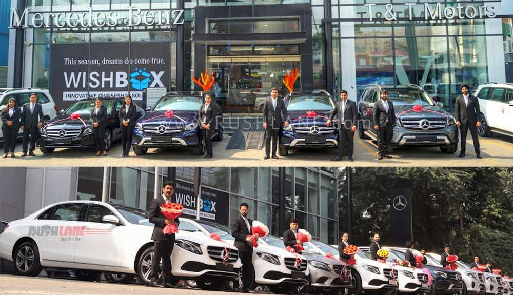 Mercedes Benz India dhanteras deliveries