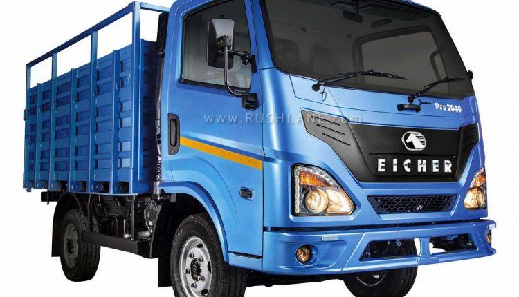 Eicher trucks features
