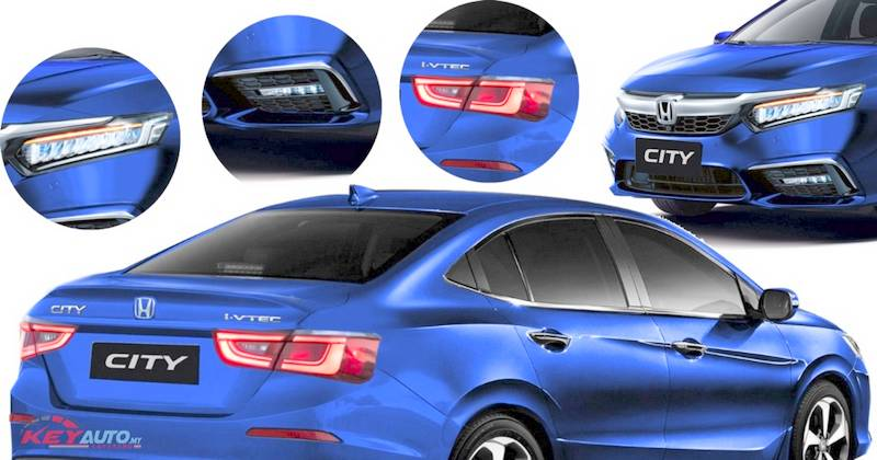 New gen Honda City 2020