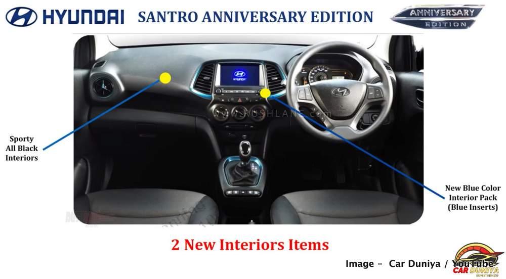New Hyundai Santro Anniversary Edition