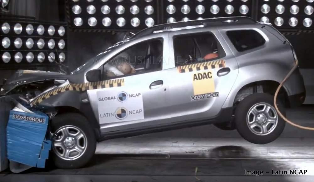 New Renault Duster crash test