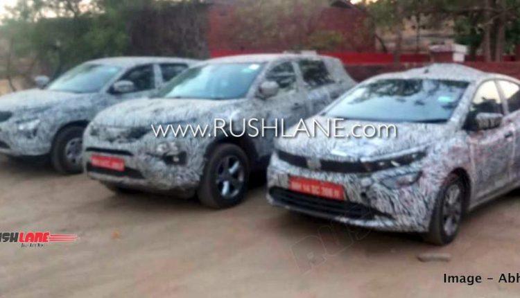 Tata test cars