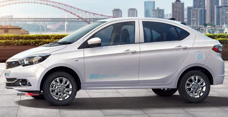 2019 Tata Tigor Electric sedan