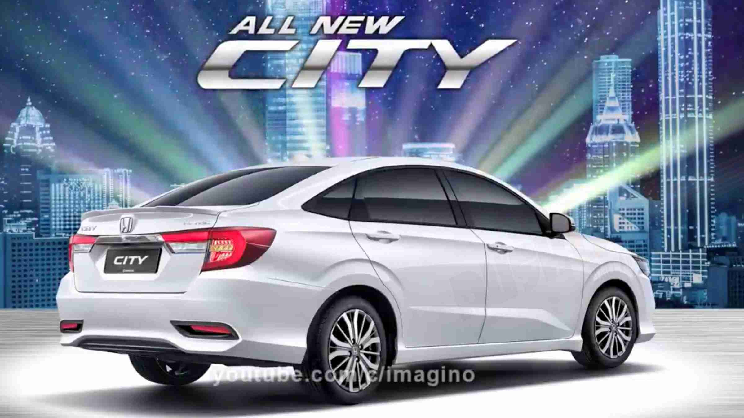 2020 honda city front and rear design  multiple colours