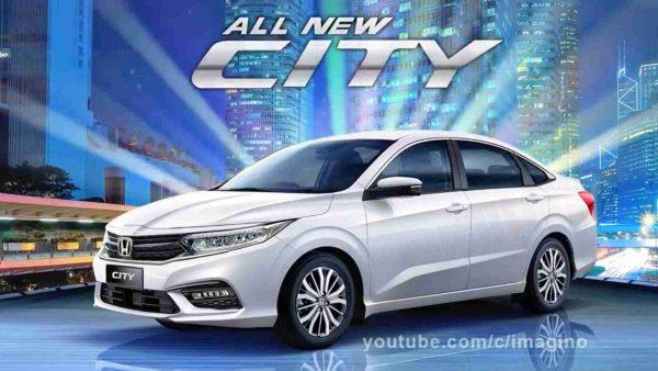 2020 Honda City front and rear design, multiple colours render - Video - RushLane thumbnail