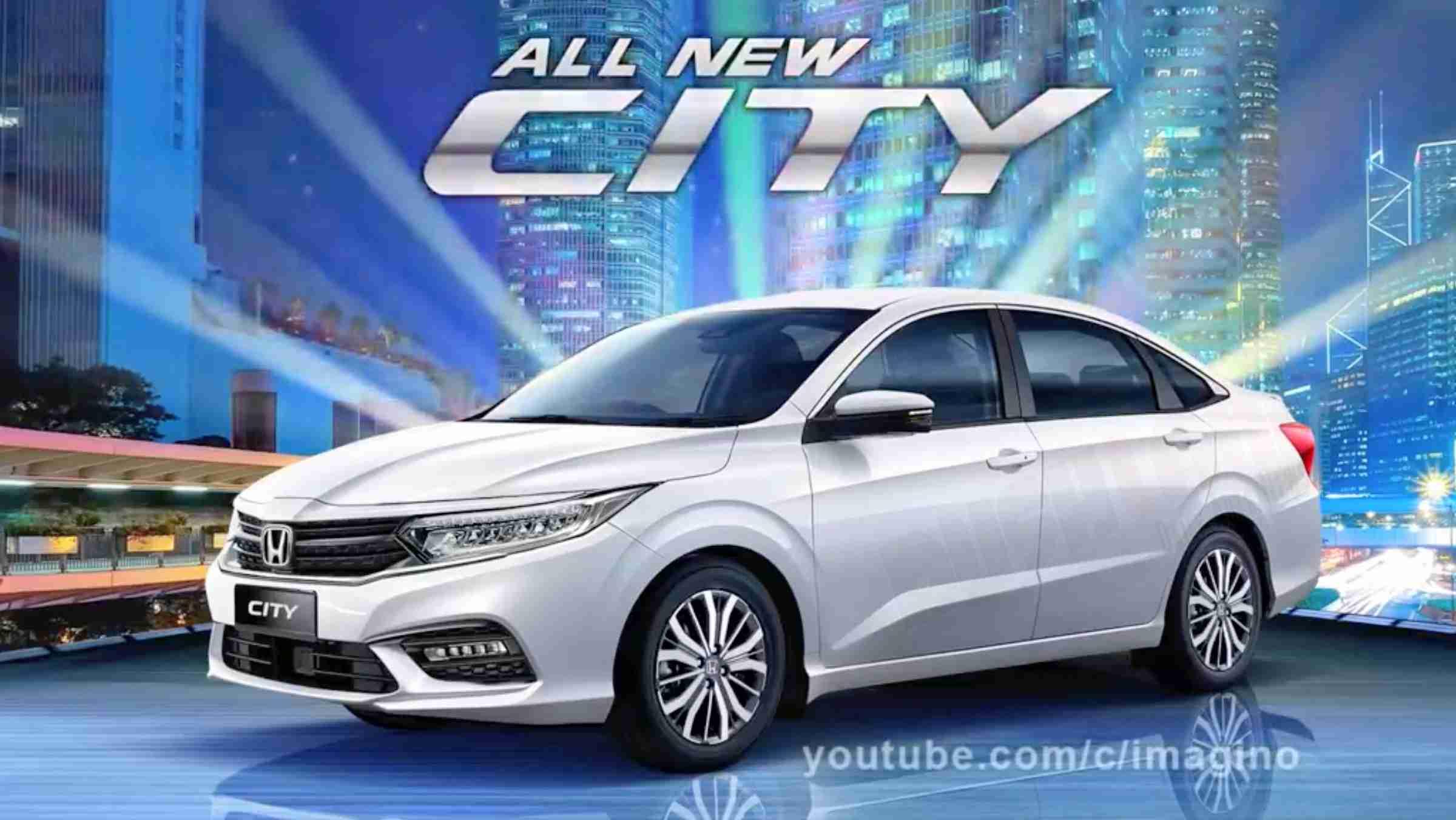 2020 Honda City White