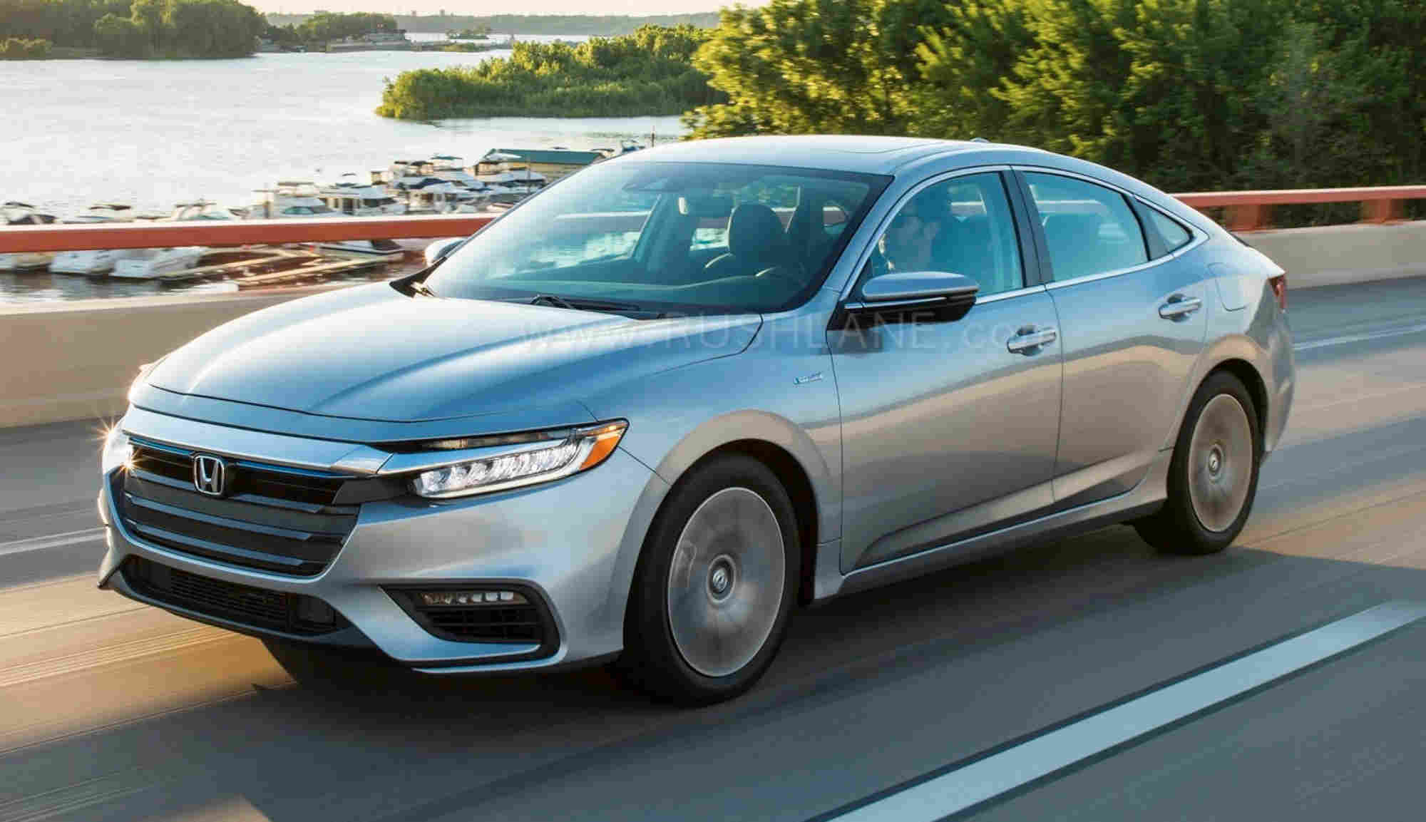 Honda Insight Hybrid testing India
