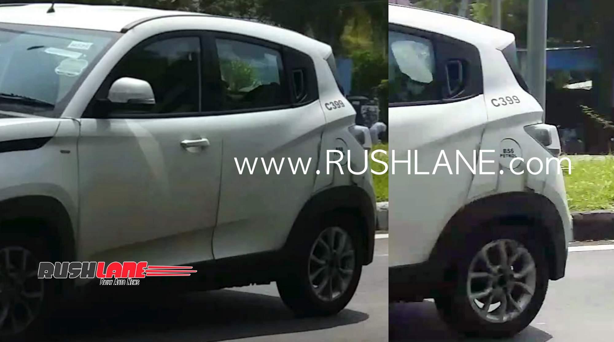 2020 Mahindra KUV100 BS6 petrol