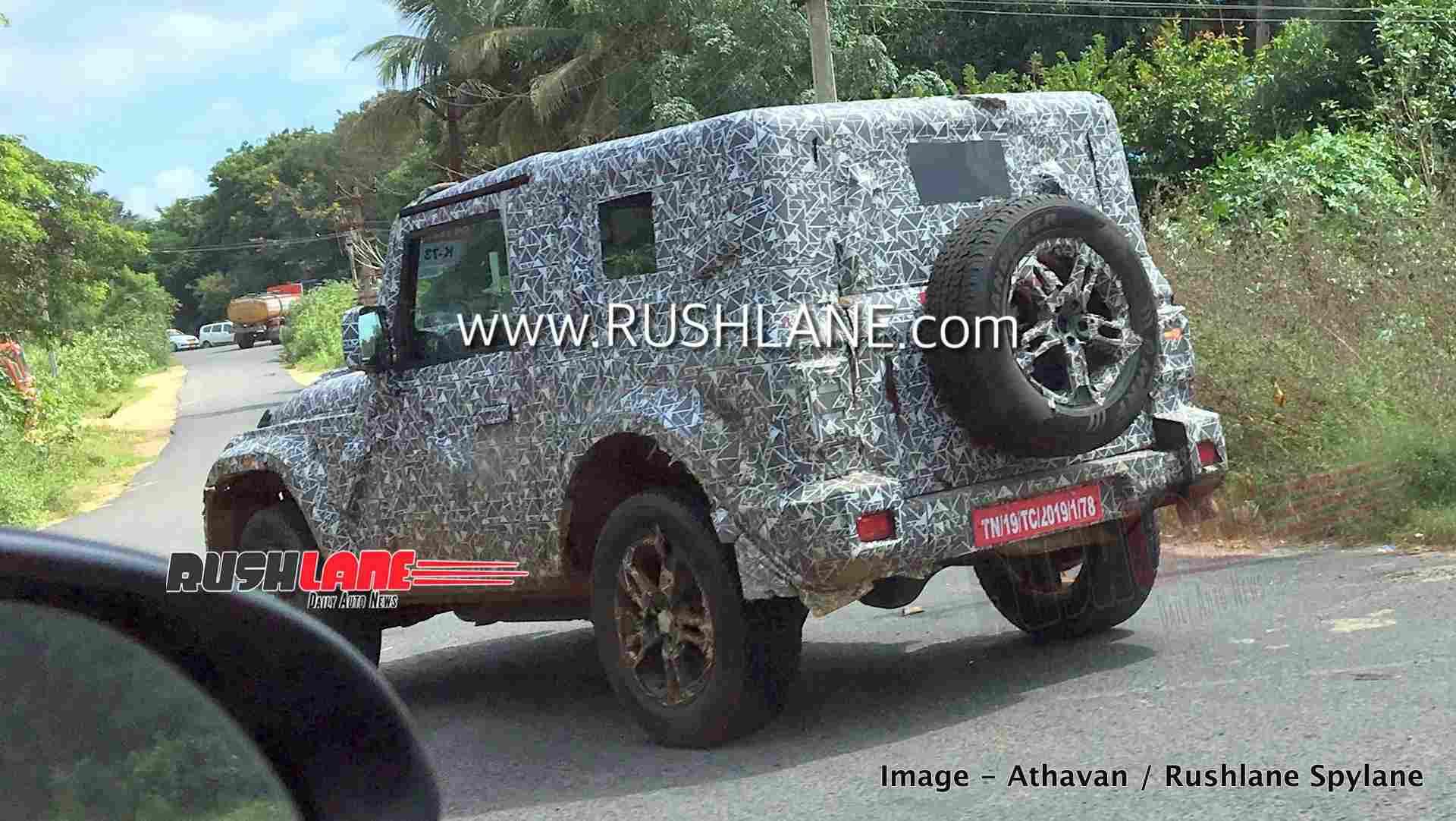 2020 Mahindra Thar Jeep Wrangler