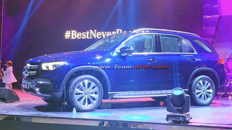 Mercedes GLE SUV showcased India