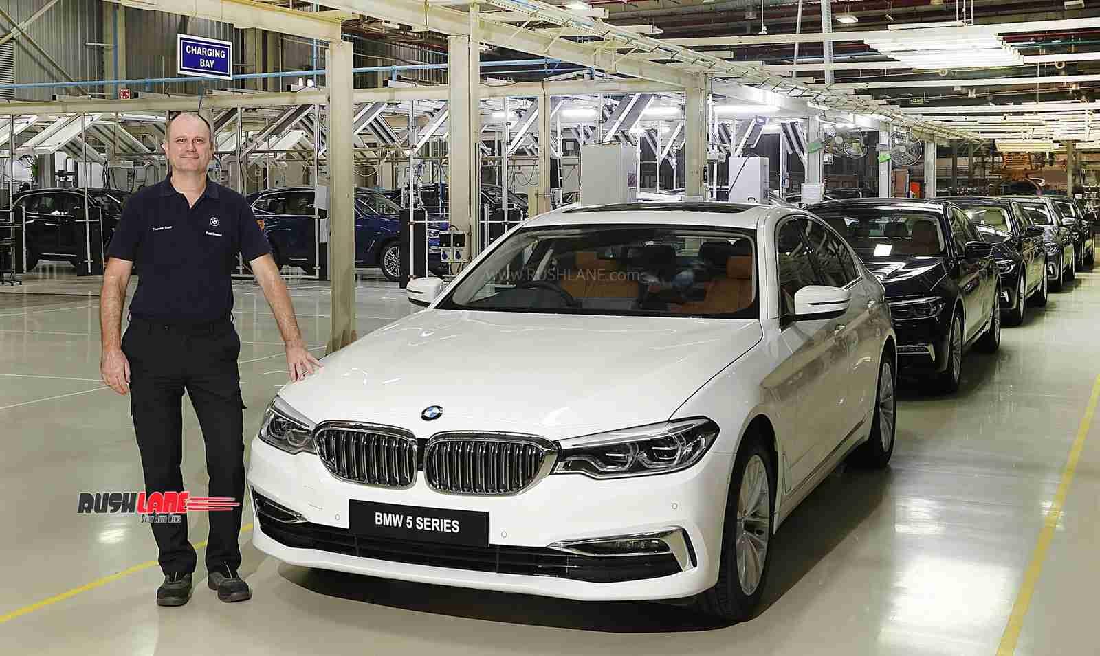 BMW 5 Series BS6 petrol