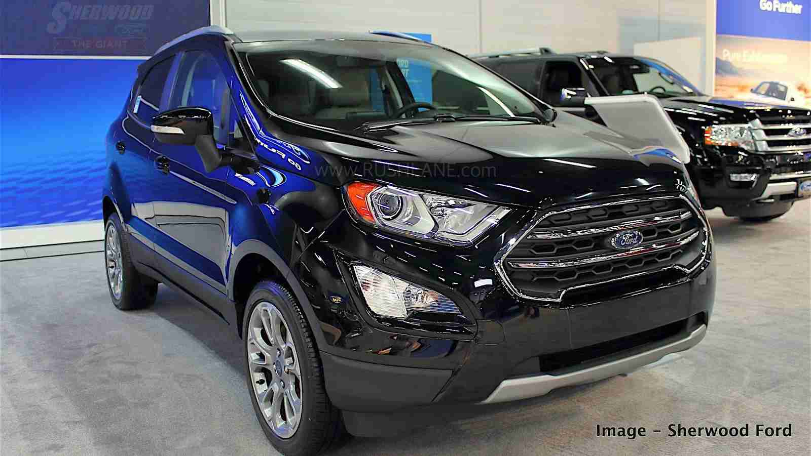 Ford EcoSport exported from India