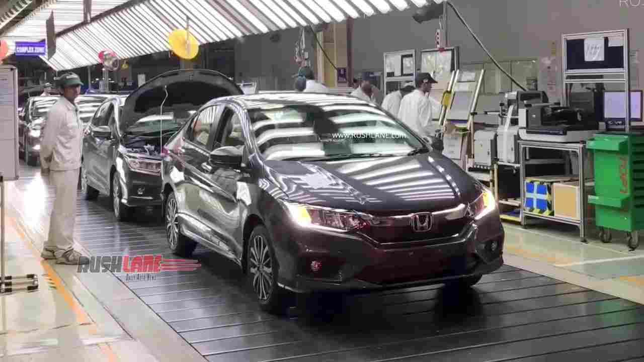 Honda City BS6 launch