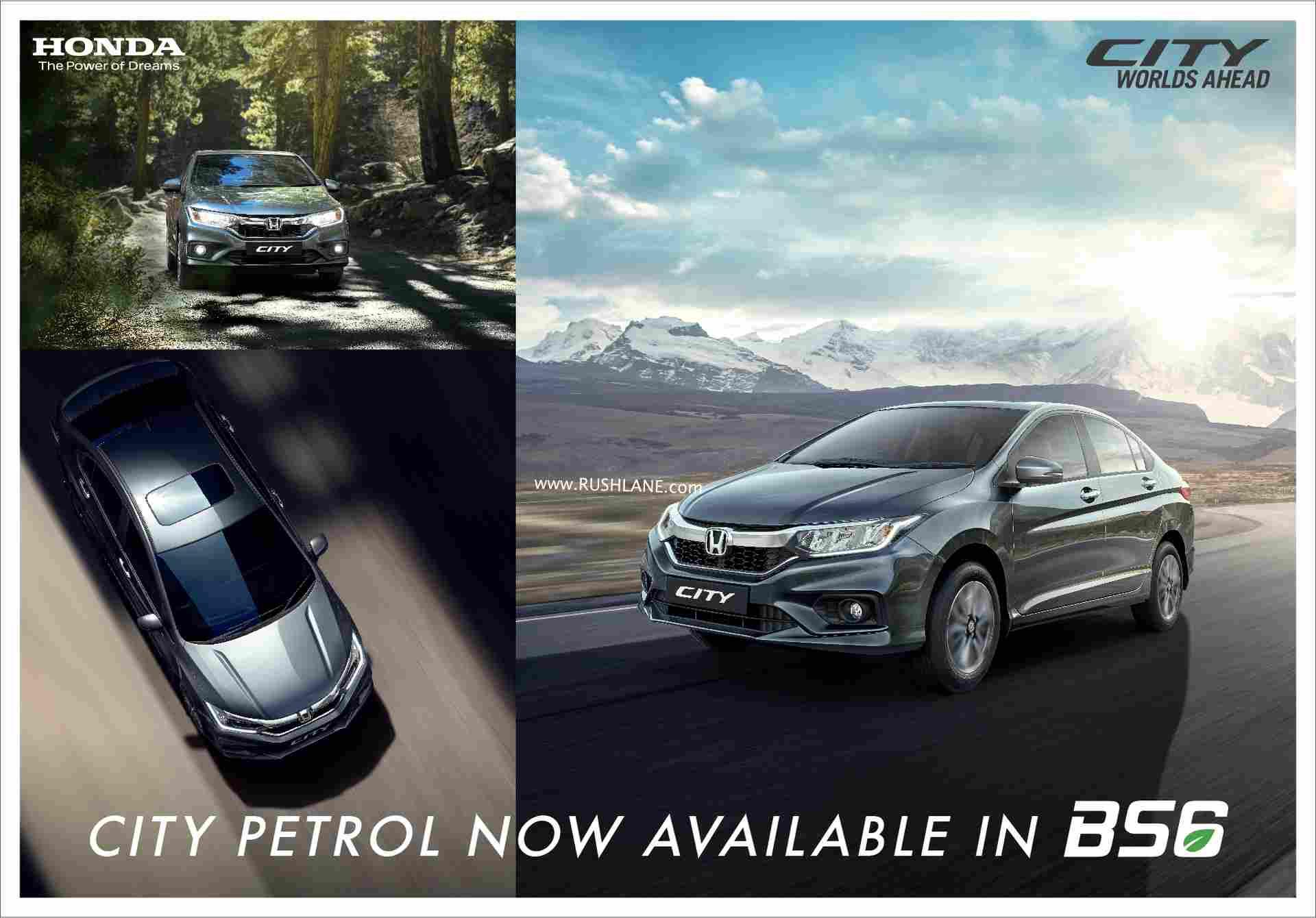 honda City BS6 petrol