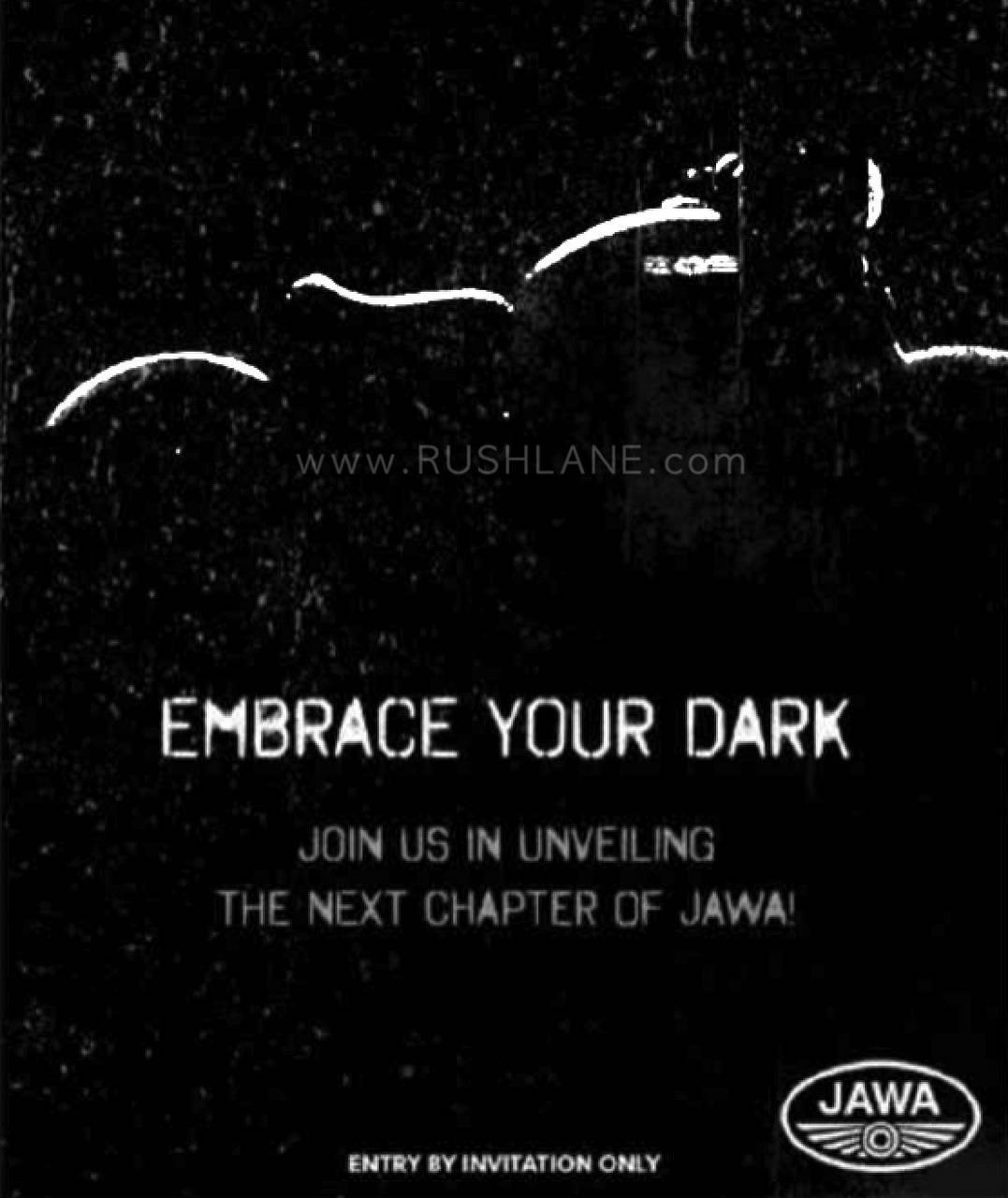 Jawa Perak launch invite