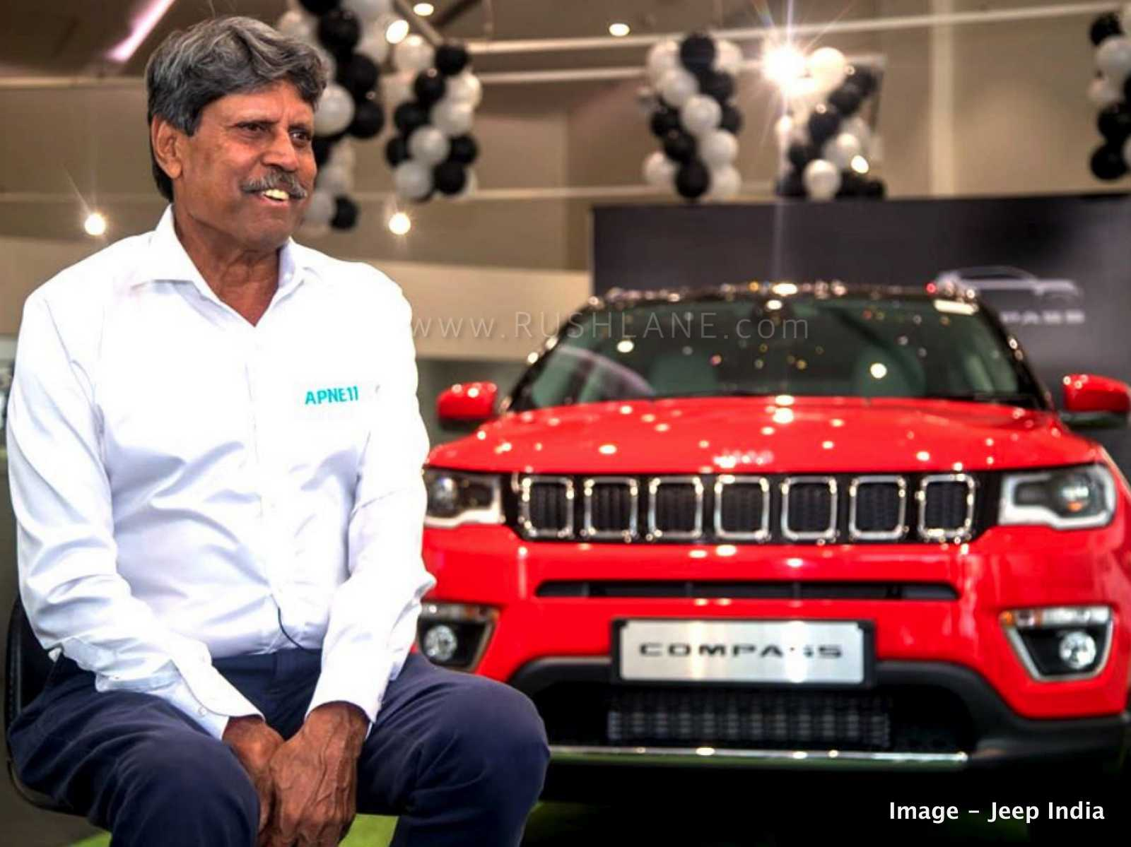 Jeep Compass Kapil Dev