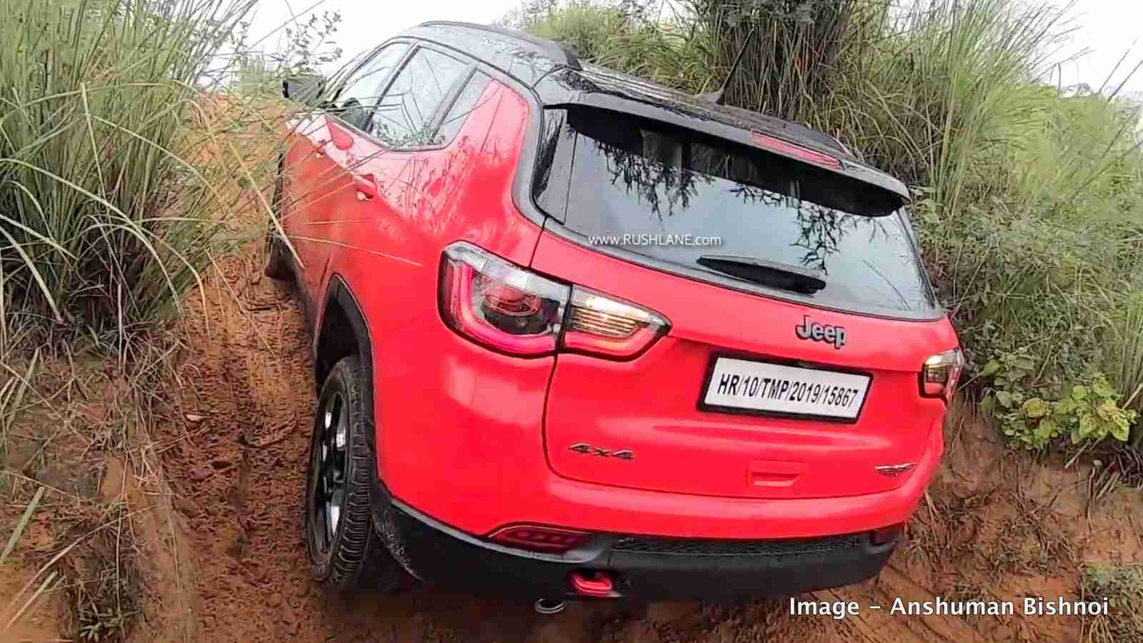 Jeep Compass trailhawk off-road