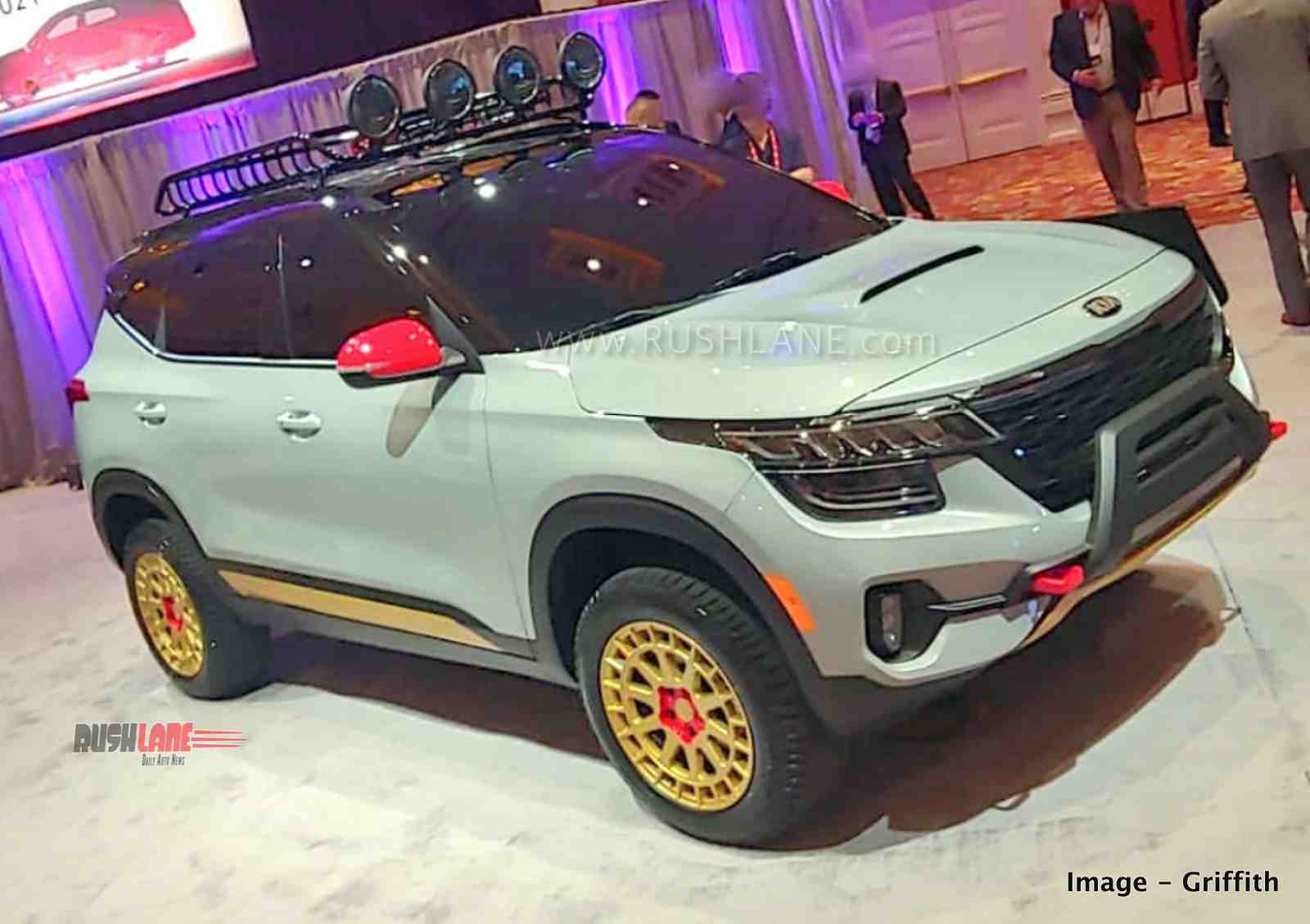 Kia Seltos off-road modified variant