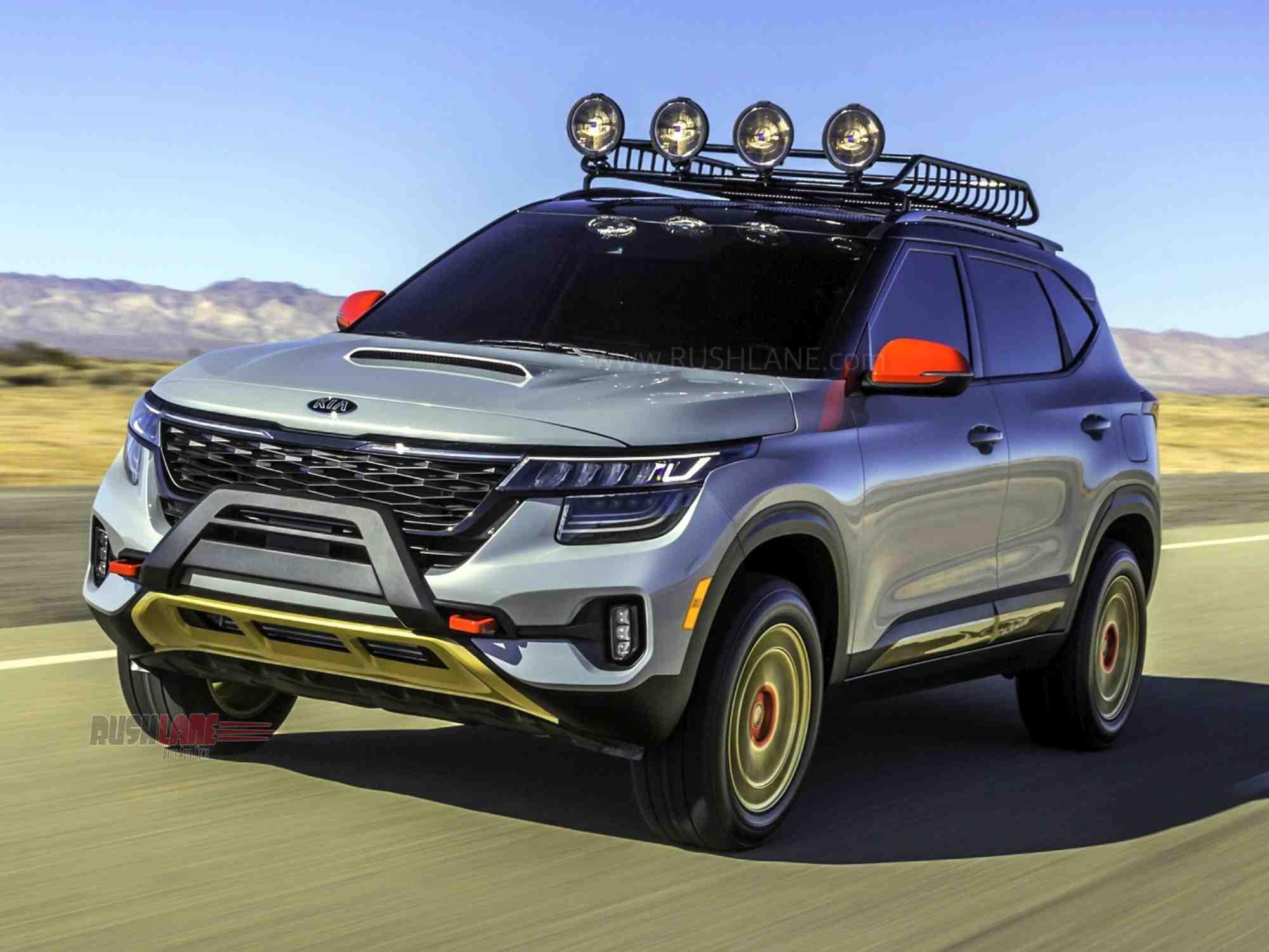 2020 Kia Seltos X-Line Trail Attack and Urban Concept unveiled