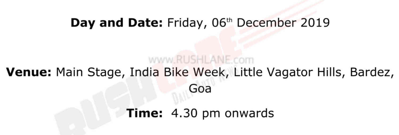 KTM 390 Adventure official invite