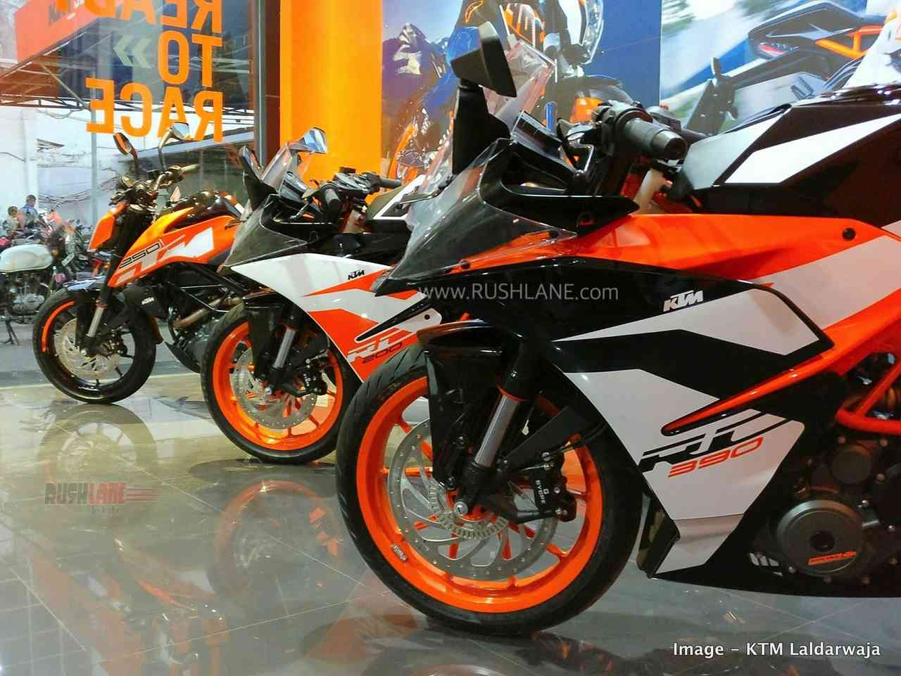 KTM India sales