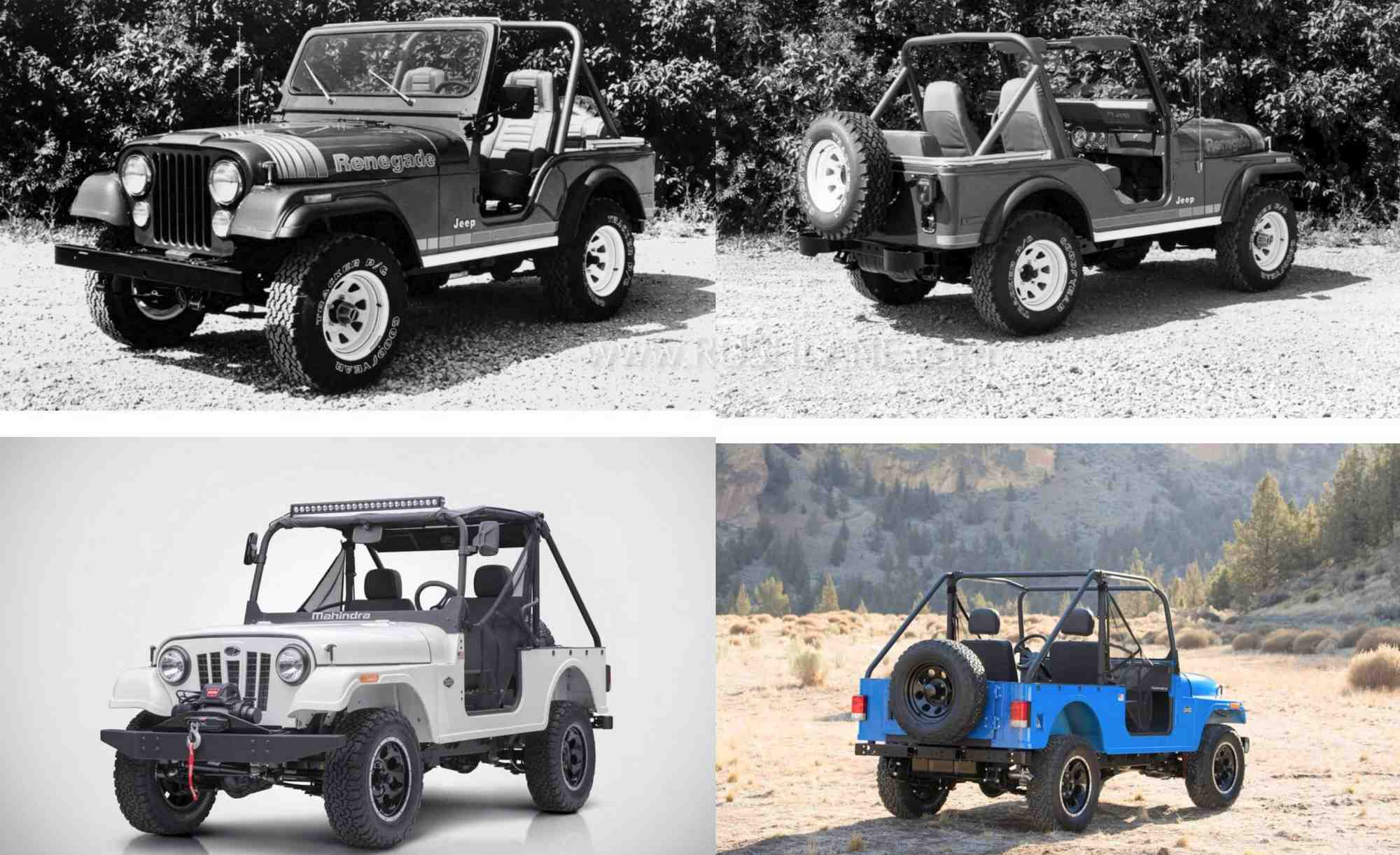 Mahindra Roxor copy of Jeep