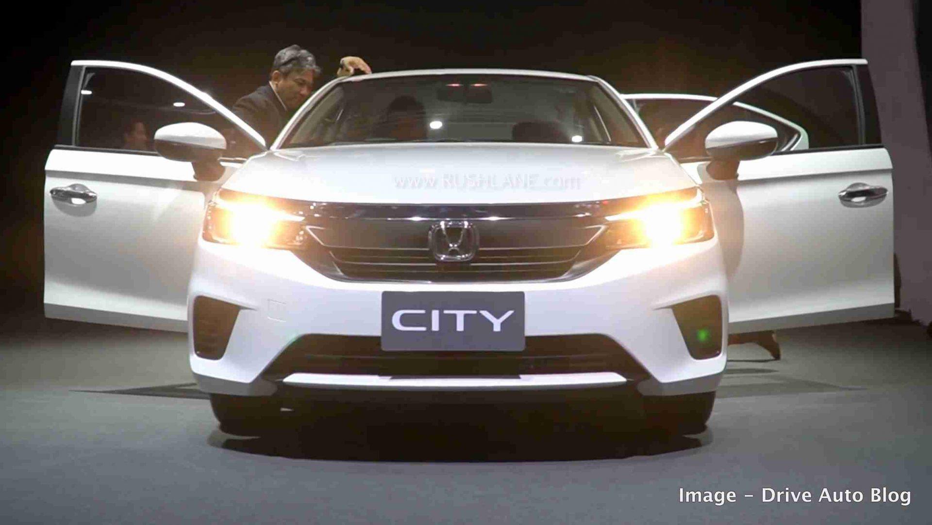 New gen Honda City