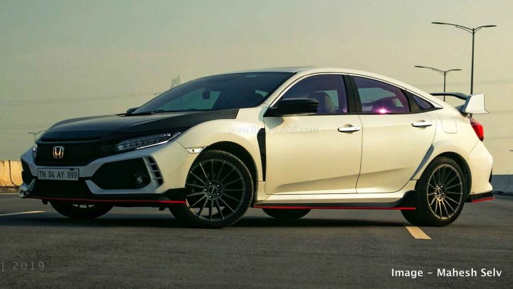 Honda Civic owner gets the Type R kit modification for Rs ...