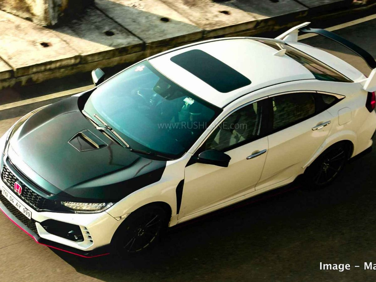 Honda Civic Owner Gets The Type R Kit Modification For Rs 3 Lakhs