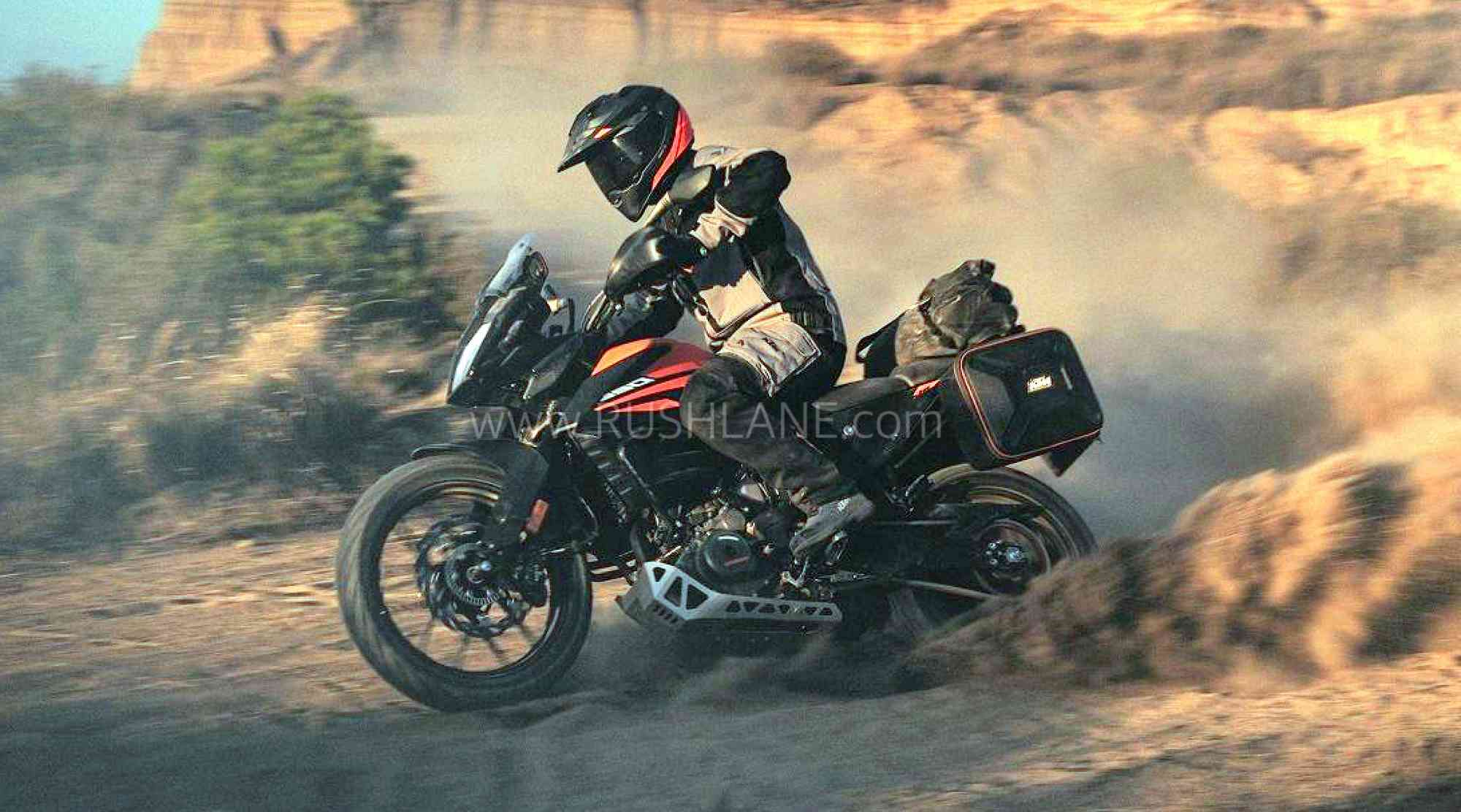 KTM 390 Adventure TVC video