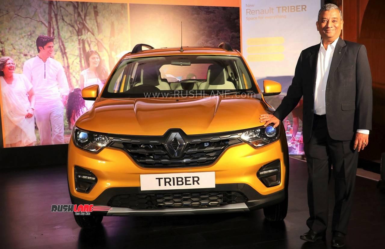 Renault Triber sales record