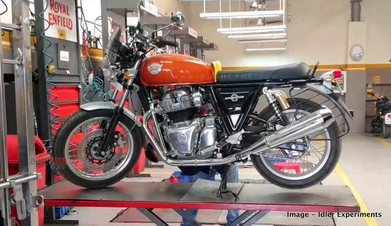 Royal Enfield 650 twins self fix