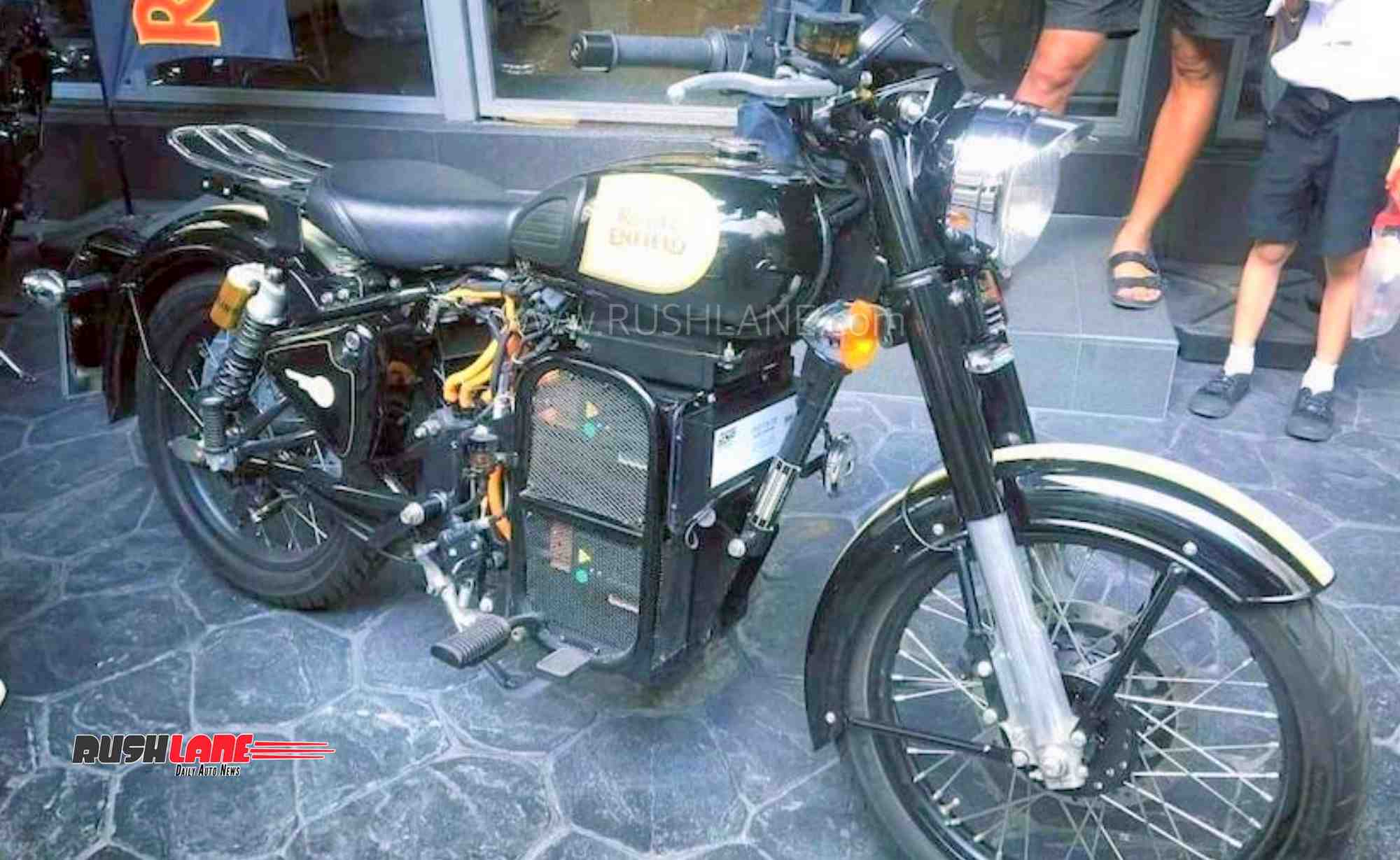 Royal Enfield electric motorcycle