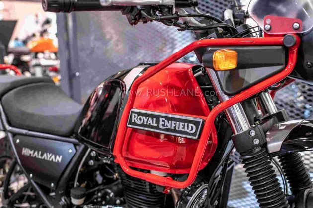 Royal Enfield Himalayan Red