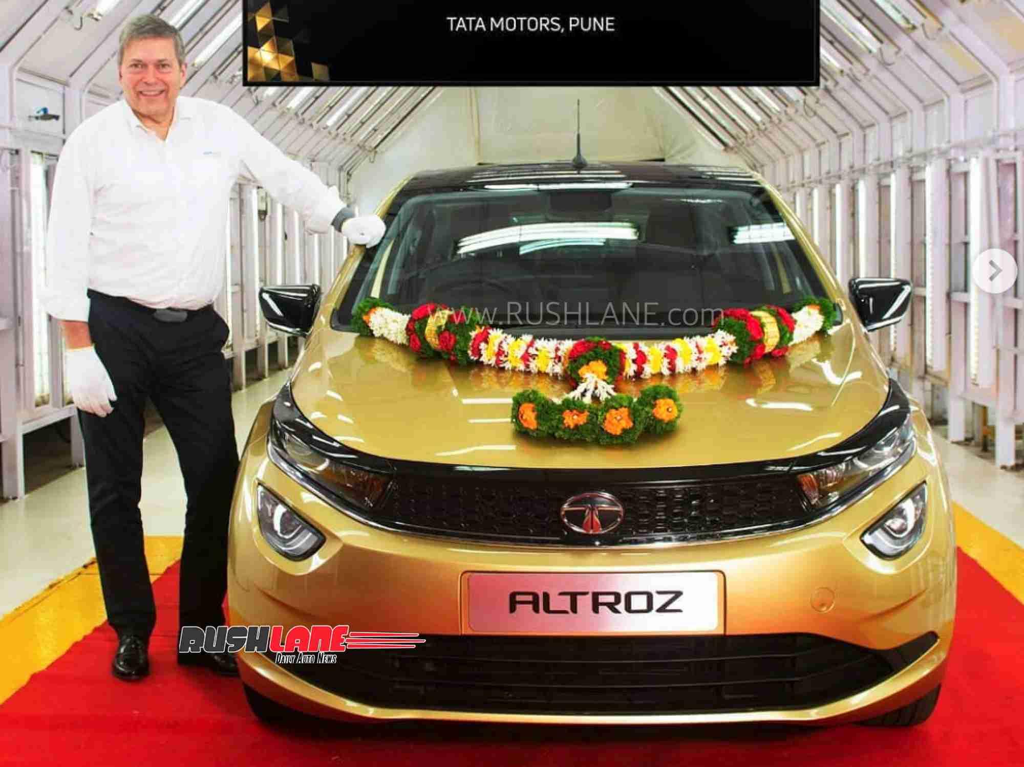 Tata Altroz production starts