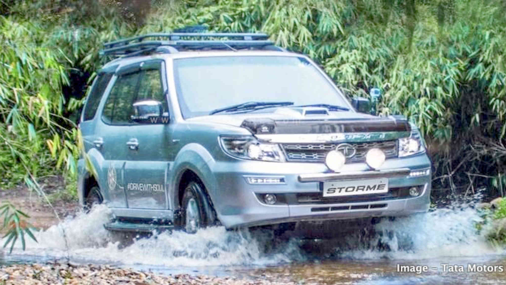 Tata Safari Storme discontinued