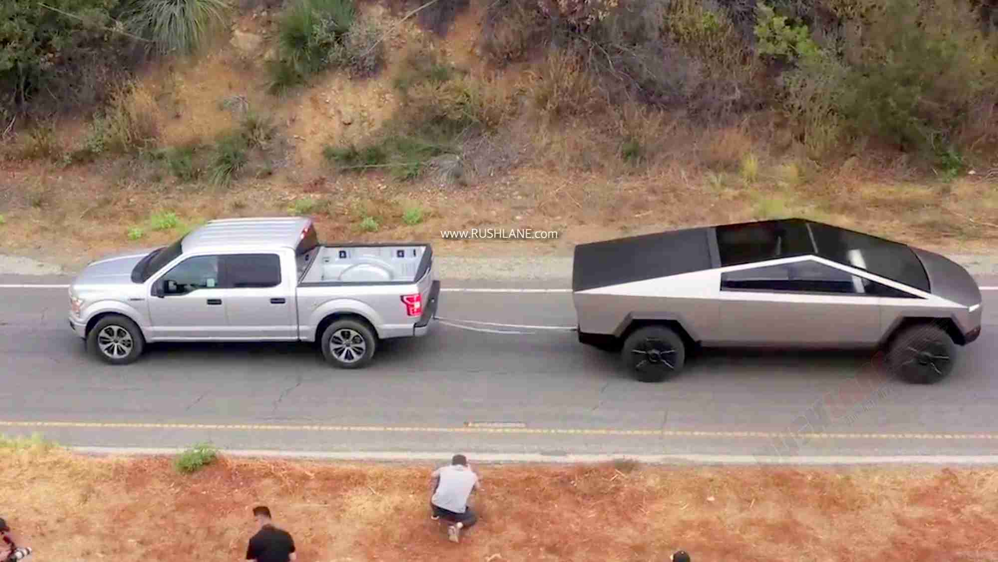 Tesla Cybertruck vs Ford F150