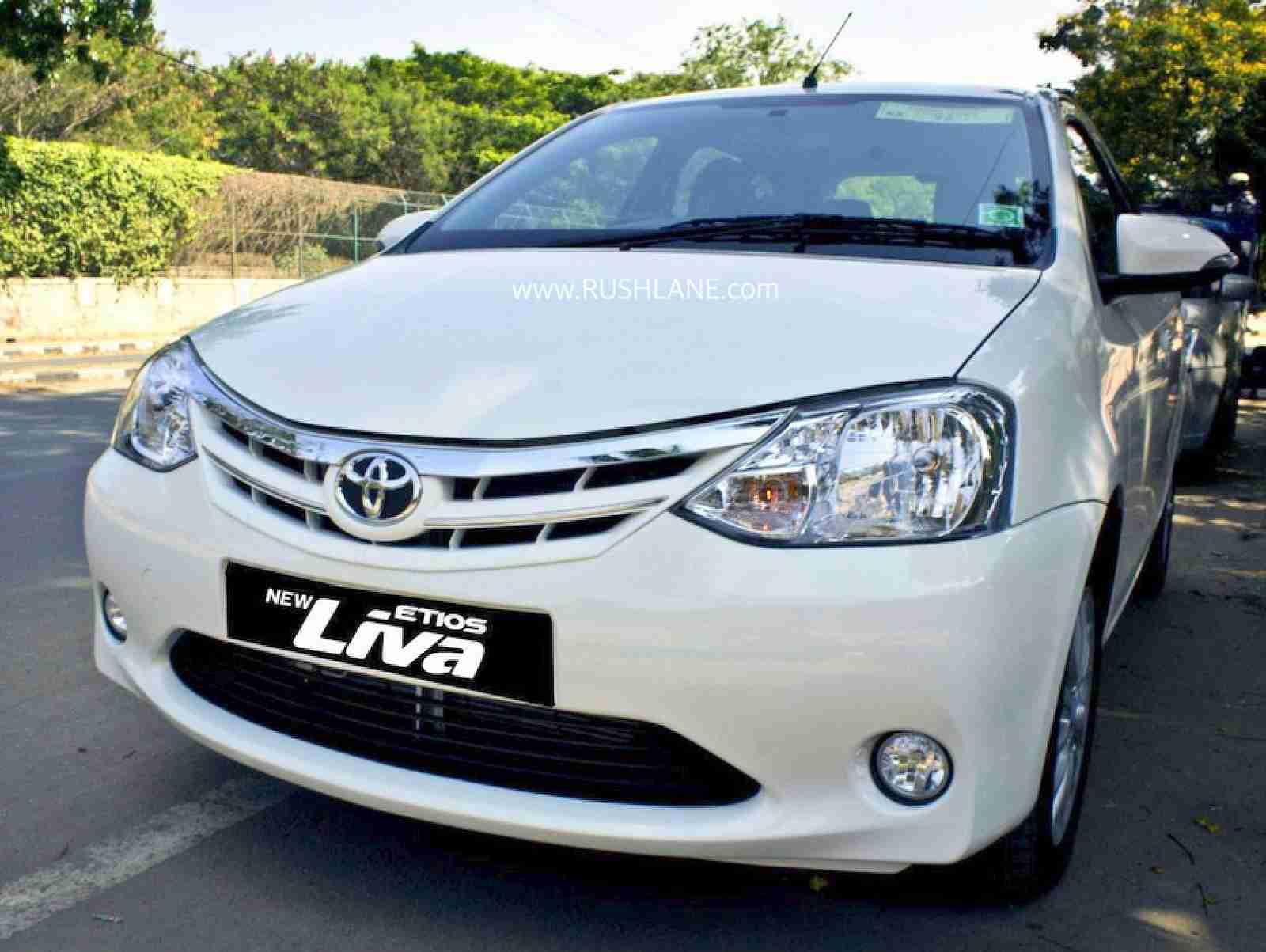 Toyota Etios Liva discontinue