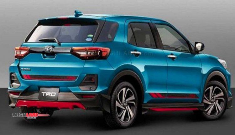 Toyota TRD Sport launch