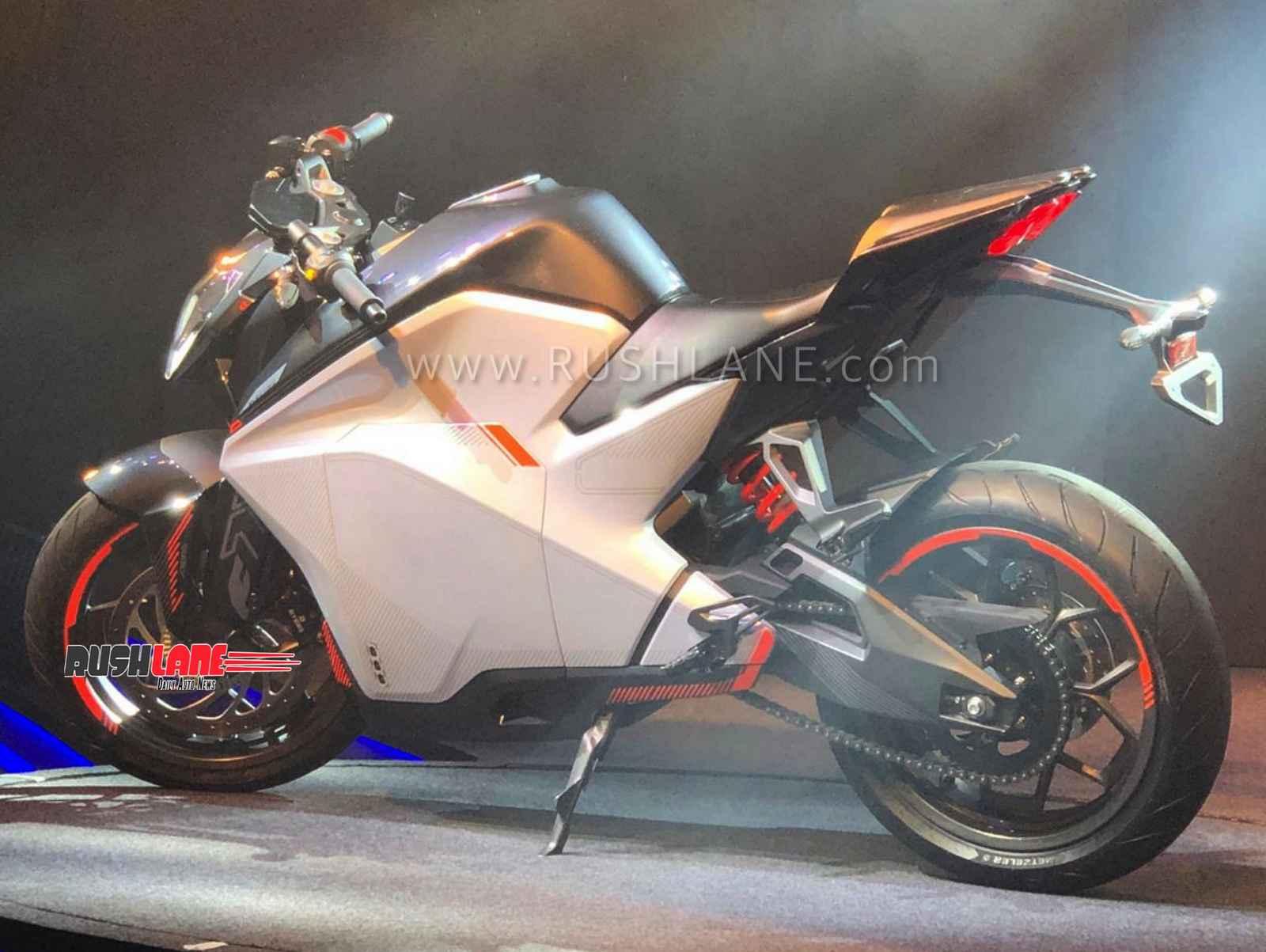 Ultraviolette F77 electric sports bike