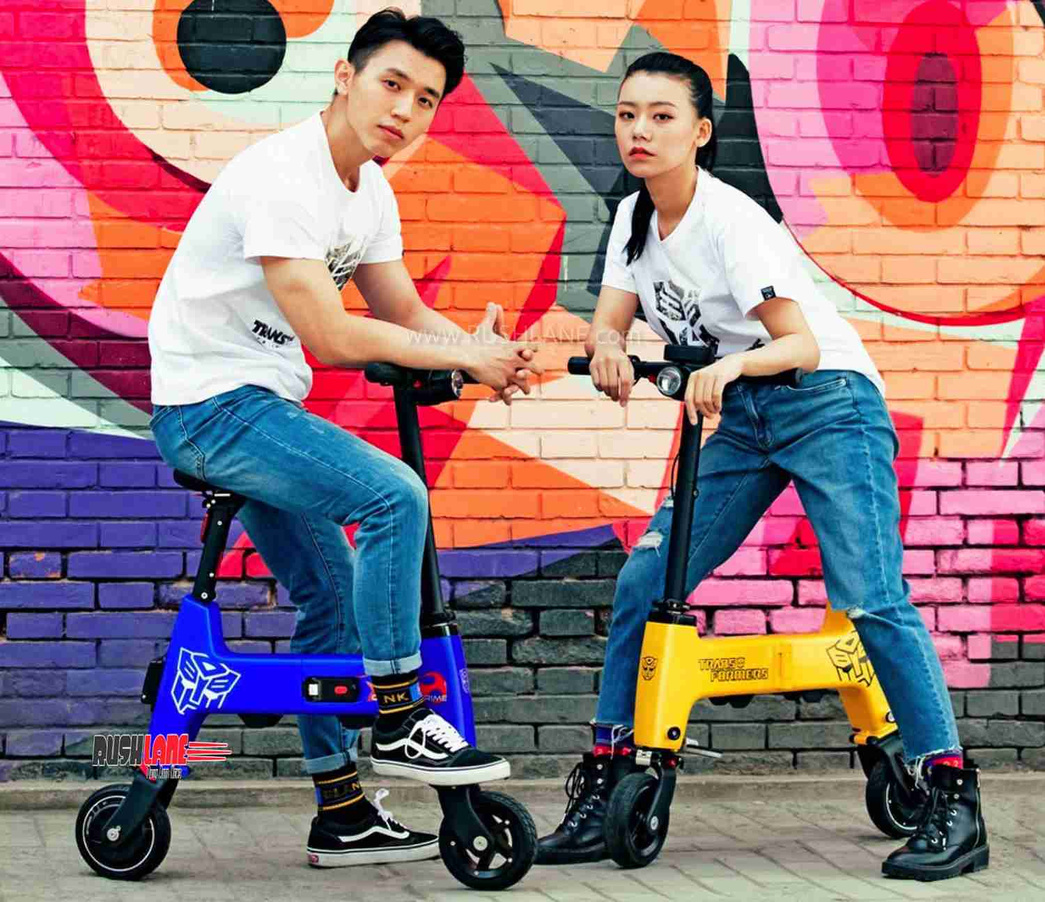 Xiomi electric foldable cycle